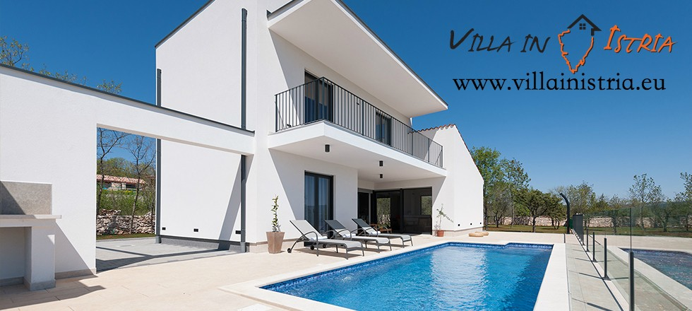 Villa in Istria, our own booking portal